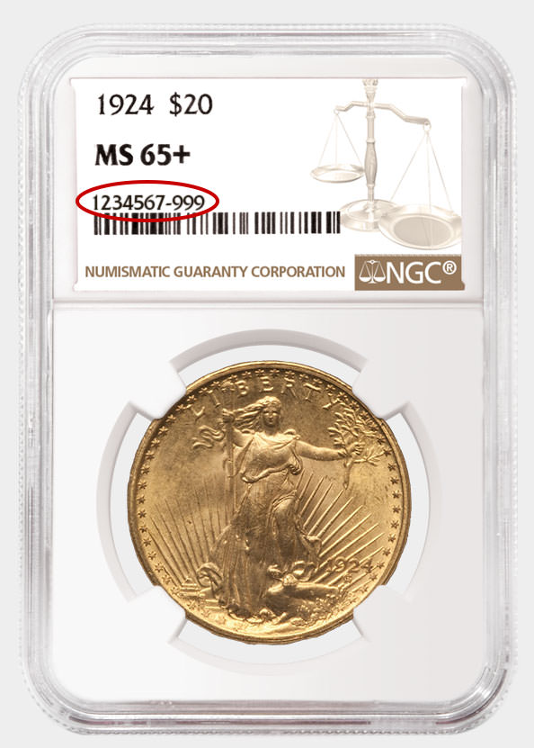 Add to NGC Coin Registry Example
